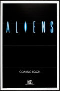 "Movie Posters:Science Fiction, Aliens (20th Century Fox, 1986). International One Sheet (27"" X 41"") Flat Folded Advance. Science Fiction.. ..."