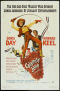 """Movie Posters:Musical, Calamity Jane (Warner Brothers, 1953). One Sheet (27"""" X 41"""").Musical.. ..."""