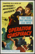 """Movie Posters:Mystery, Operation Conspiracy (Republic, 1957). One Sheet (27"""" X 41"""").Mystery.. ..."""