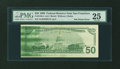 Error Notes:Ink Smears, Fr. 2126-L $50 1996 Federal Reserve Note. PMG Very Fine 25.. ...