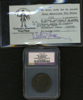 1723 2PENCE Rosa Americana Twopence--Environmental Damage--NCS. XF Details. Accompanied by a Colonial American Coin Club...