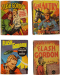 Golden Age (1938-1955):Miscellaneous, Big Little Book Large Group (Whitman, 1930s-40s) Condition: Average GD.... (Total: 23 Comic Books)