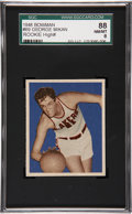 Basketball Cards:Singles (Pre-1970), 1948 Bowman George Mikan #69 SGC 88 NM/MT 8....