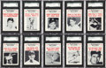 "Baseball Cards:Sets, 1961 Nu-Card ""Baseball Scoops"" High Grade Complete Set (80)...."