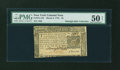 Colonial Notes:New York, New York March 5, 1776 $5 PMG About Uncirculated 50 NET....