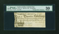 Colonial Notes:North Carolina, North Carolina March 9, 1754 20s PMG Very Fine 30....