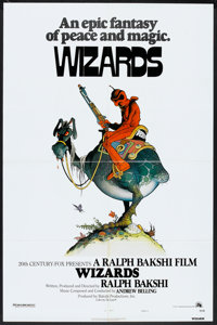 "Wizards (20th Century Fox, 1977). One Sheet (27"" X 41"") Style A. Animated"