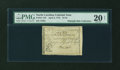 Colonial Notes:North Carolina, North Carolina April 2, 1776 $1/16 Griffin PMG Very Fine 20 NET....