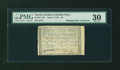 Colonial Notes:North Carolina, North Carolina April 2, 1776 $2 Fox PMG Very Fine 30....