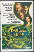 "Movie Posters:Science Fiction, War Gods of the Deep (American International, 1965). One Sheet (27""X 41""). Science Fiction.. ..."