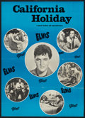 "Movie Posters:Elvis Presley, Spinout (MGM, 1966). Danish Poster (24"" X 33.25""). Elvis Presley....."