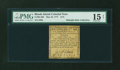 Colonial Notes:Rhode Island, Rhode Island May 22, 1777 $1/8 PMG Choice Fine 15 NET....