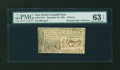 Colonial Notes:New Jersey, New Jersey December 31, 1763 18d PMG Choice Uncirculated 63 EPQ....