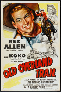 """Old Overland Trail (Republic, 1952). One Sheet (27"""" X 41""""). Western"""