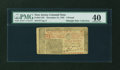 Colonial Notes:New Jersey, New Jersey December 31, 1763 £3 PMG Extremely Fine 40....