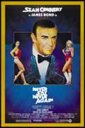 """Movie Posters:James Bond, Never Say Never Again (Warner Brothers, 1983). One Sheet (27"""" X 41"""") and Italian One Sheet (2) (27"""" X 39"""").. ... (Total: 3 Items)"""
