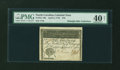 Colonial Notes:North Carolina, North Carolina April 2, 1776 $10 Peacock PMG Extremely Fine 40NET....