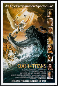 """Clash of the Titans (MGM, 1981). One Sheet (27"""" X 41"""") Advance Style A. Fantasy"""