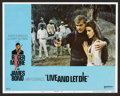 "Movie Posters:James Bond, Live and Let Die (United Artists, 1973). Lobby Card Set of 8 (11"" X14""), Program (7.5"" X 12""), and Pressbook (Multiple Page... (Total:10 Items)"