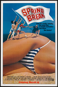 """Spring Break (Columbia, 1983). One Sheet (27"""" X 41"""") Advance and Lobby Card Set of 8 (11"""" X 14""""). Co..."""