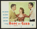 "Movie Posters:Adventure, Rope of Sand (Paramount, 1949). Lobby Cards (6) (11"" X 14"") andPressbook (Multiple Pages, 12.25"" X 15""). Adventure.. ... (Total: 7Items)"