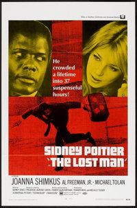 "The Lost Man (Universal, 1969). One Sheet (27"" X 41""), Lobby Card Set of 8 (11"" X 14"") & Pre..."