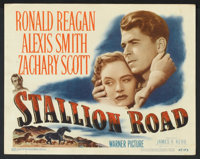 "Stallion Road (Warner Brothers, 1947). Title Card (11"" X 14') & Lobby Cards (3) (11"" X 14""). Dram..."