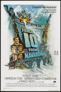 "Movie Posters:War, Force 10 from Navarone (Columbia, 1978). One Sheet (27"" X 41"") andLobby Card Set of 8 (11"" X 14""). War.. ... (Total: 9 Items)"