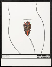 """Art or Pornography? (New Line, 1970). Poster (17"""" X 22""""). Miscellaneous"""