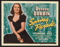 "Spring Parade (Universal, 1940). Lobby Card Set of 8 (11"" X 14""). Musical. ... (Total: 8 Items)"