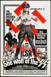 """Ilsa, She Wolf of the SS (Cambist Films, 1975). One Sheet (27"""" X 41"""") Flat-Folded. Cult Classic"""