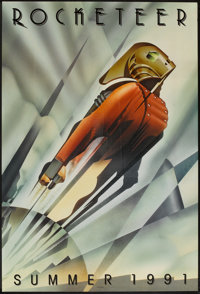 """The Rocketeer (Touchstone, 1991). One Sheet (27"""" X 40"""") DS Advance. Action"""