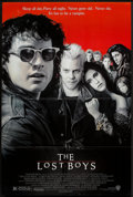 """Movie Posters:Horror, The Lost Boys (Warner Brothers, 1987). One Sheet (27"""" X 41"""") &Program (Multiple Pages) (9"""" X 12""""). Horror.. ... (Total: 2 Items)"""