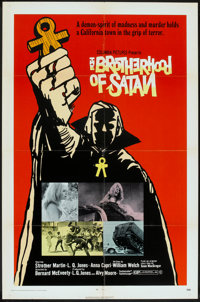 """The Brotherhood of Satan Lot (Columbia, 1971). One Sheets (4) (27"""" X 41""""). Horror. ... (Total: 4 Items)"""