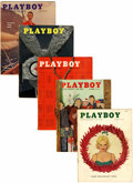 Magazines:Miscellaneous, Playboy Group (HMH Publishing, 1956-58).... (Total: 12 Items)