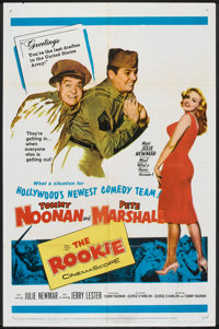 "The Rookie (20th Century Fox, 1959). One Sheet (27"" X 41"") and Lobby Card set of 8 (11"" X 14""). Come..."