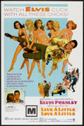 """Movie Posters:Elvis Presley, Live a Little, Love a Little (MGM, 1968). One Sheet (27"""" X 41"""") & Press Book (Multiple Pages) (12"""" x 17""""). Elvis Presley.. ... (Total: 2 Items)"""