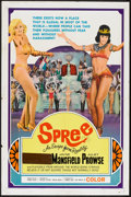 """Movie Posters:Documentary, Spree (United Producers, 1967). One Sheet (27"""" X 41"""") Style C, Pressbook (Multiple Pages, 8.5"""" X 11""""), and Ad Supplement (11... (Total: 3 Items)"""