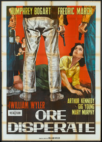 "The Desperate Hours (Paramount, 1955). Italian 4 - Folio (55"" X 78""). Film Noir"
