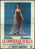 "Movie Posters:Drama, The Barefoot Contessa (Dear Film, R-1950s). Italian 4 - Folio (55""X 78""). Drama.. ..."