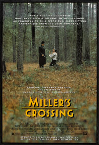 """Miller's Crossing Lot (20th Century Fox, 1990). One Sheets (2) (27"""" X 40"""" and 27"""" X 41"""") SS. Crime..."""