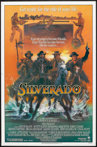 "Silverado Lot (Columbia, 1985). One Sheets (3) (27"" X 41"" and 27"" X 40"") Regular and DS. Western..."