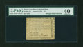 Colonial Notes:North Carolina, North Carolina August 8, 1778 $1/4 PMG Extremely Fine 40....