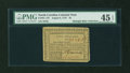 Colonial Notes:North Carolina, North Carolina August 8, 1778 $5 PMG Choice Extremely Fine 45EPQ....