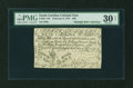 Colonial Notes:South Carolina, South Carolina February 8, 1779 $50 PMG Very Fine 30 NET....