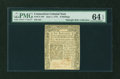 Colonial Notes:Connecticut, Connecticut June 1, 1775 6s PMG Choice Uncirculated 64 EPQ....
