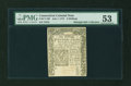 Colonial Notes:Connecticut, Connecticut July 1, 1775 6s PMG About Uncirculated 53....