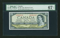 Canadian Currency: , BC-33b $20 Devil's Face Portrait 1954. ...