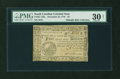 Colonial Notes:South Carolina, South Carolina December 23, 1777 (pen corrected to 1776) $4 PMGVery Fine 30 NET....