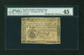 Colonial Notes:South Carolina, South Carolina December 23, 1776 $8 PMG Choice Extremely Fine 45....